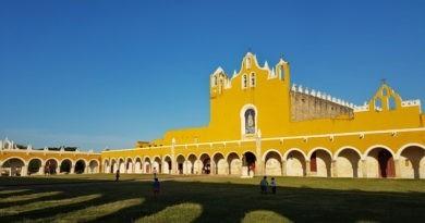 Izamal, la ville jaune du Yucatan