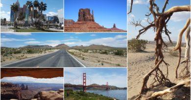 3 semaines sur la côte ouest des USA : notre itinéraire