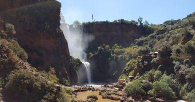 Depuis Marrakech : virée aux cascades d'Ouzoud